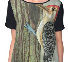 Woodpecker Chiffon Top