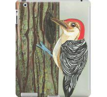 Woodpecker iPad Case/Skin