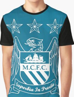 Tribute to Manchester City Graphic T-Shirt