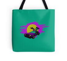 Retro Delorean Tote Bag