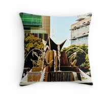 Victoria Square S.E. Throw Pillow