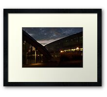 Dome and Glass Framed Print
