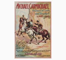 Artist Posters Michael Carmichael a story of love and mystery by Miles Sandys 0614 One Piece - Short Sleeve