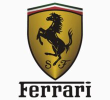 Ferrari (T-shirt, Phone Case & more) Kids Tee