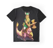 Gilius Thunderhead: Golden Axe Graphic T-Shirt