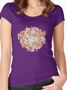 Blackthorn Family Motto Women's Fitted Scoop T-Shirt