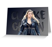 Clarke 'Grounder' Griffin Greeting Card