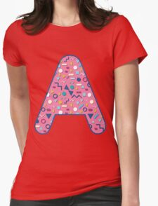 A abstract cool life Womens Fitted T-Shirt