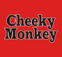 Cheeky Monkey - Toddler Baby Clothing T-Shirt One Piece - Short Sleeve