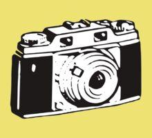 Retro Camera - Photographer T-Shirt Sticker Baby Tee