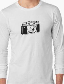 Retro Camera - Photographer T-Shirt Sticker Long Sleeve T-Shirt