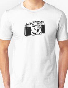 Retro Camera - Photographer T-Shirt Sticker Unisex T-Shirt