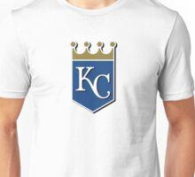 kansas city royals baseball logo Unisex T-Shirt