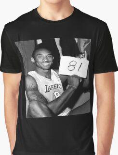 Kobe Bryant - 81 points Graphic T-Shirt