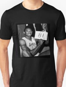 Kobe Bryant - 81 points T-Shirt