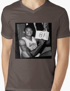 Kobe Bryant - 81 points Mens V-Neck T-Shirt