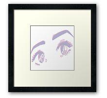 ANIME EYES Framed Print