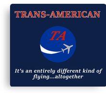 Trans-American logo Canvas Print
