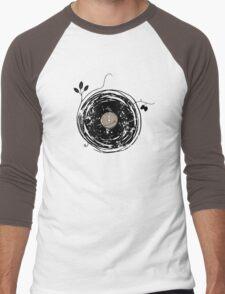 Enchanting Vinyl Records Vintage Men's Baseball ¾ T-Shirt