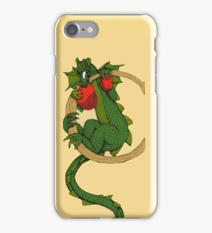 """Oscar and the Roses """"C"""" (Illustrated Alphabet) iPhone Case/Skin"""