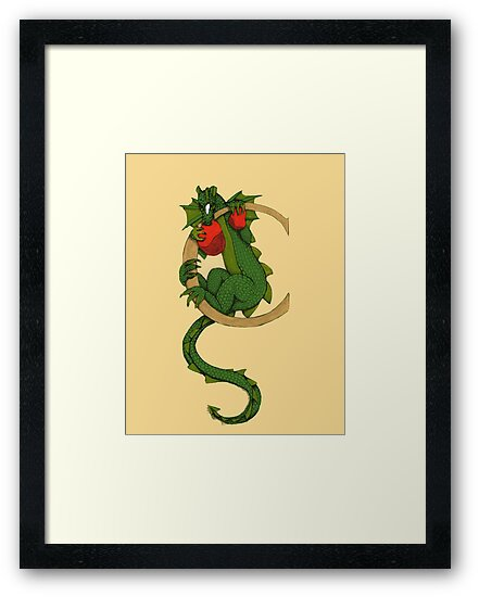 "Oscar and the Roses ""C"" (Illustrated Alphabet) by Donna Huntriss"