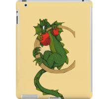 "Oscar and the Roses ""C"" (Illustrated Alphabet) iPad Case/Skin"