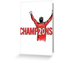 Champions 20  Greeting Card