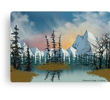 Sweet Mountain Sunrise Canvas Print