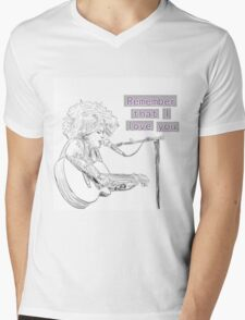 Kimya Dawson- Remember that I love you Mens V-Neck T-Shirt