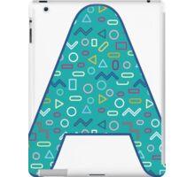 A  abstract smoke word world iPad Case/Skin