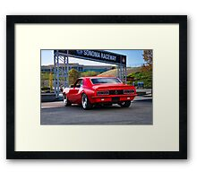 1968 Camaro Rally Sport SS396 'Going Home' Framed Print