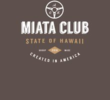 Miata Club of Hawaii Two Hipster Print Unisex T-Shirt
