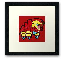 Pokemon Laironman Framed Print