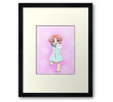 Little Kobeni Framed Print