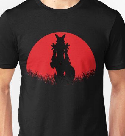 Renamon Digital Monster RED MOON Unisex T-Shirt