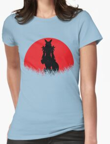 Renamon Digital Monster RED MOON Womens Fitted T-Shirt