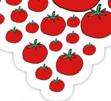 I LOVE YOU FROM MY HEAD TOMATOES Sticker