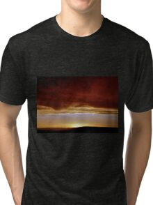 Underneath Stormclouds: Sunset at Fish River Canyon Tri-blend T-Shirt
