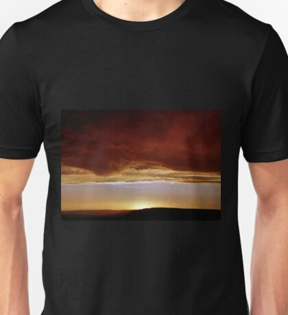 Underneath Stormclouds: Sunset at Fish River Canyon Unisex T-Shirt