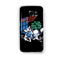 Pinky and Brain Take over The world Samsung Galaxy Case/Skin