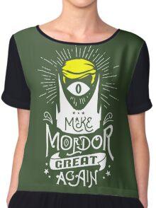 Make Mordor Great Again Chiffon Top