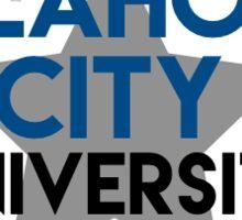 Oklahoma City with star Sticker