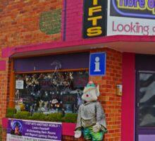 Gift Shop, Railton, Tasmania, Australia Sticker