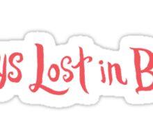 Always Lost in Books Sticker