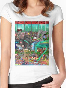 Waterpark! Women's Fitted Scoop T-Shirt
