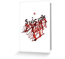Suicide Greeting Card