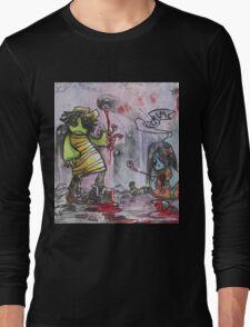 He's a Monster Long Sleeve T-Shirt