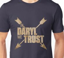 Daryl Dixon The Walking Dead - In Daryl We Trust Unisex T-Shirt