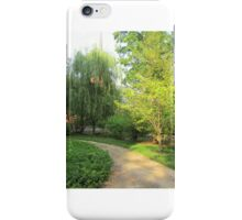 Willow Trail Afternoon iPhone Case/Skin