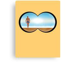 well hello summer Canvas Print